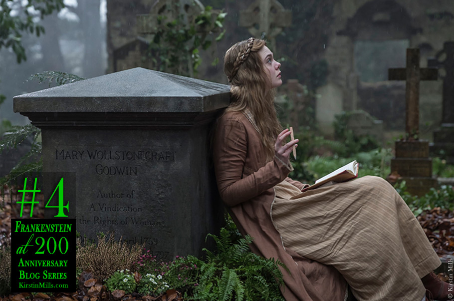 Mary Shelley & her Mother's Ghost: Mary Wollstonecraft's Grave, London