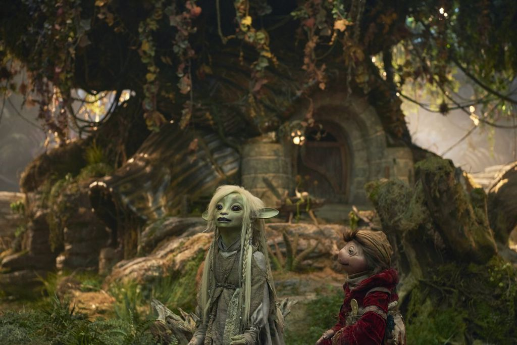 A scene from The Dark Crystal Age of Resistance