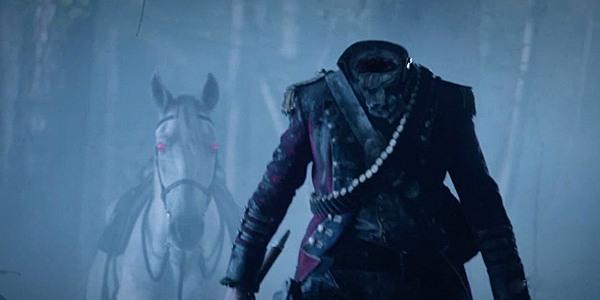 sleepy hollow, headless horseman, washington irving, gothic horse, demonic horse, ghosts