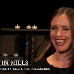 Dr Kirstin Mills, Macquarie University lecturer and researcher, ghost stories documentary