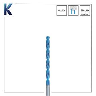 Nachi L x D 8 Solid Carbide Drills