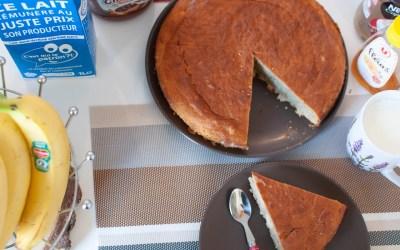 Réjouissez vos papilles avec ce délicieux gâteau à la banane et aux amandes