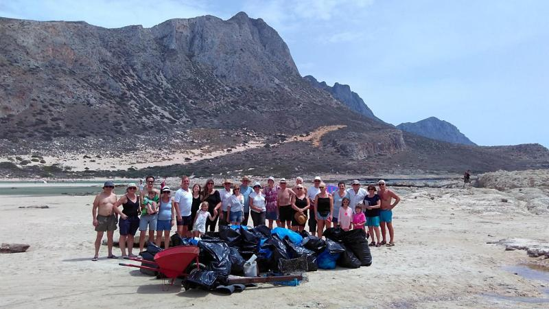 Balos Clean-up: a success!