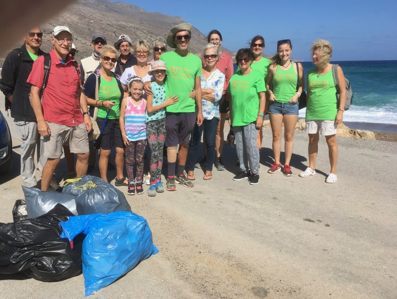 Beach Cleaning Viglia 6th October
