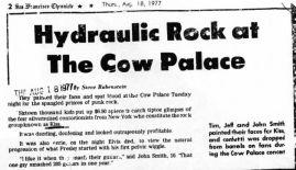 Kiss at Cow Palace, '77(18)