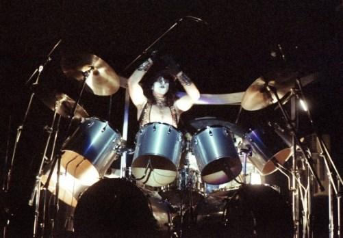 Eric Carr, 'Unmasked Tour' Septiembre 1980