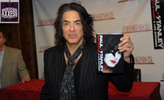 Paul Stanley Book Signing Bookends Ridgewood, NJ 4-9-14 083