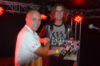 Magnus och vinnaren Patrick.