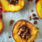 Maple Grilled Peaches