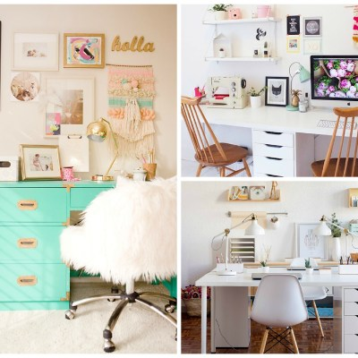 8 Inspiring Home Office Decorating Ideas