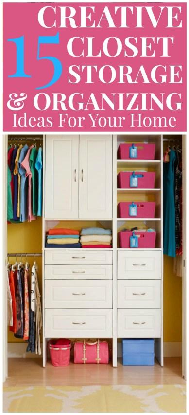 Closet Organizing & Storage
