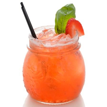 Summer Cocktails Strawberry-Basil-Lemonade