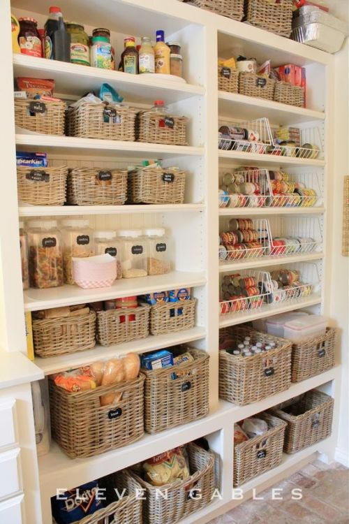 storage bins for your pantry