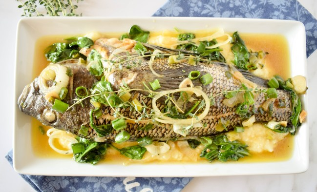 Whole Steamed Fish Recipe