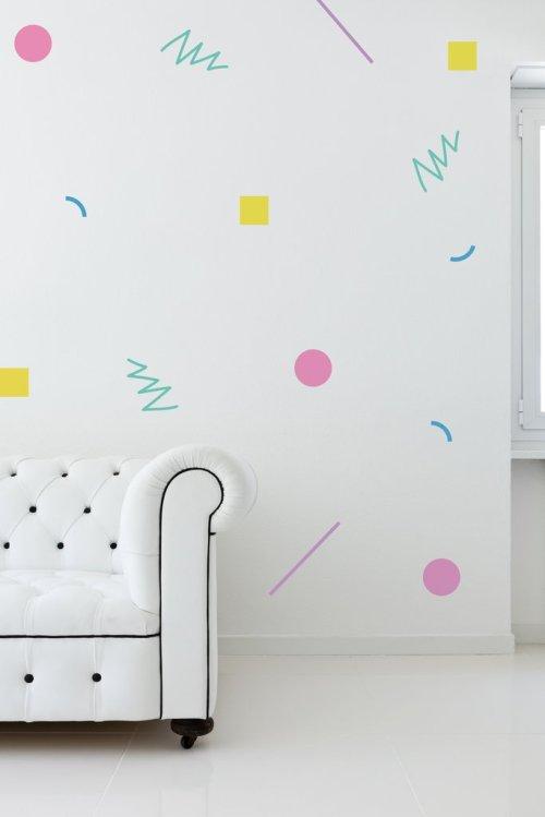 Wall Decor 80's theme