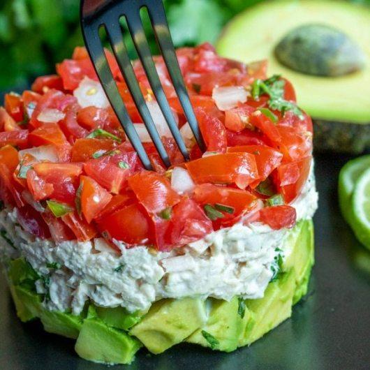 Keto Tuns Salad