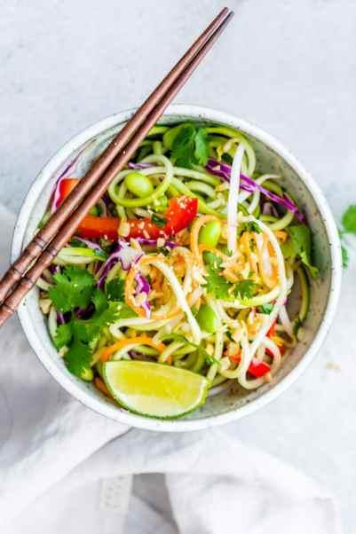 Keto Vegan Pan Thai