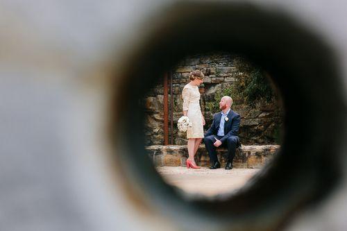 An Offbeat Vintage, Retro Wedding in Australia