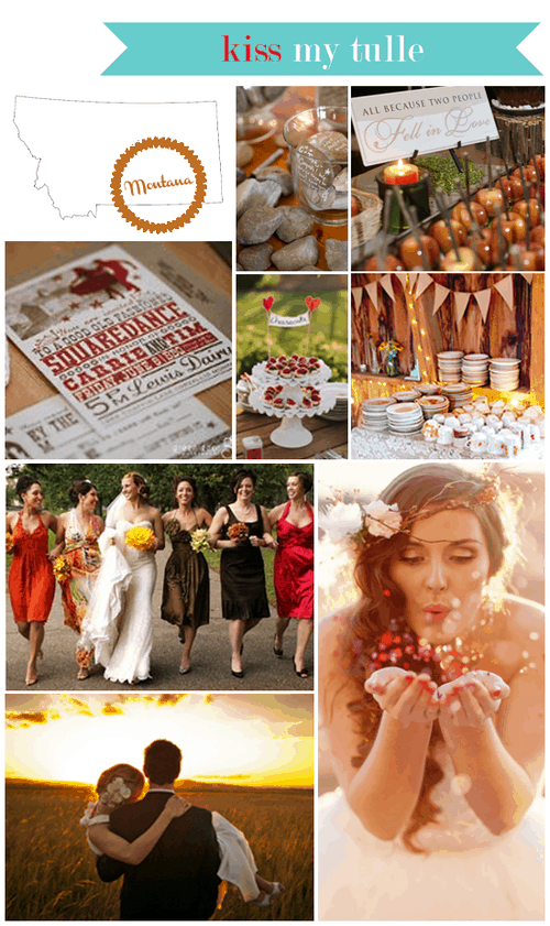 Montana State Wedding Inspiration