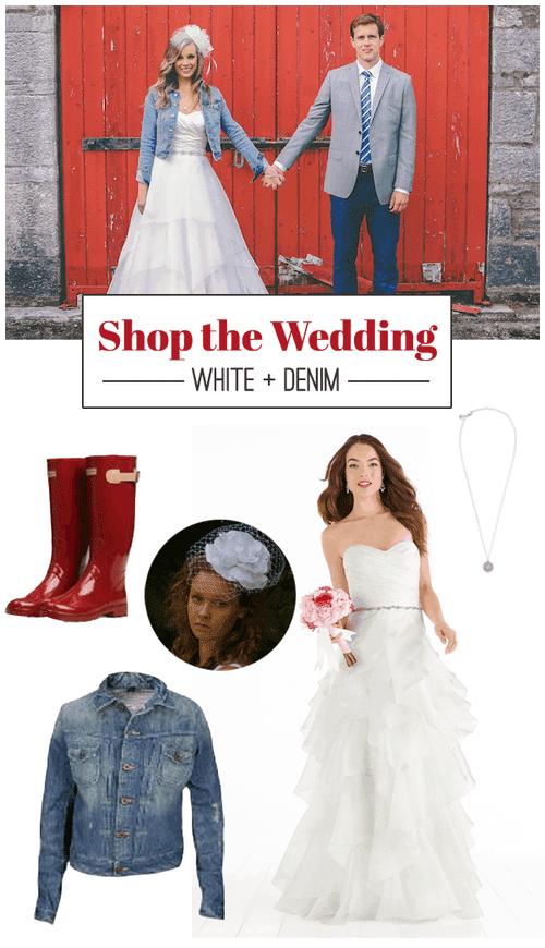 Shop The Wedding: White + Denim