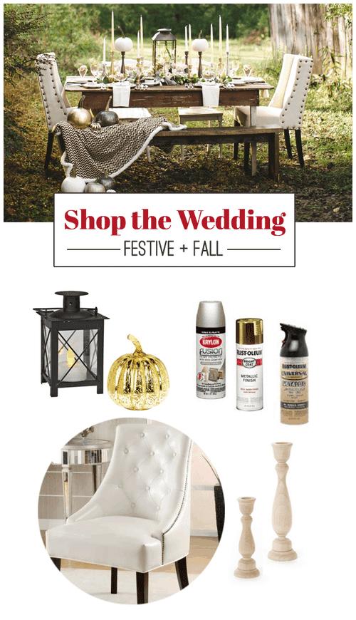 Shop The Wedding: Festive + Fall