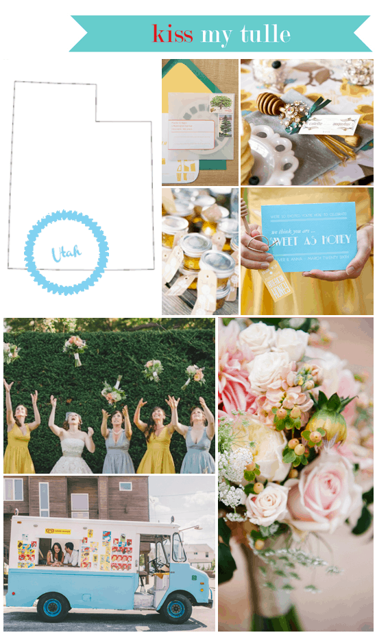 Utah State Wedding Inspiration