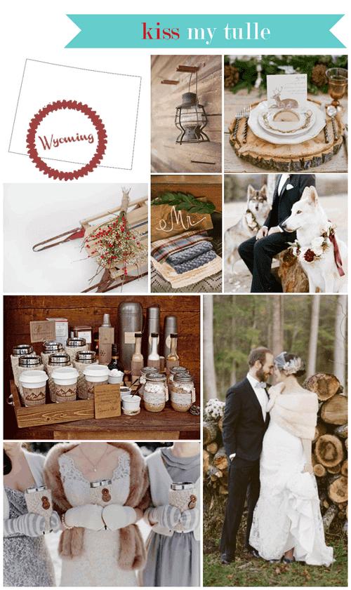 Wyoming State Wedding Inspiration