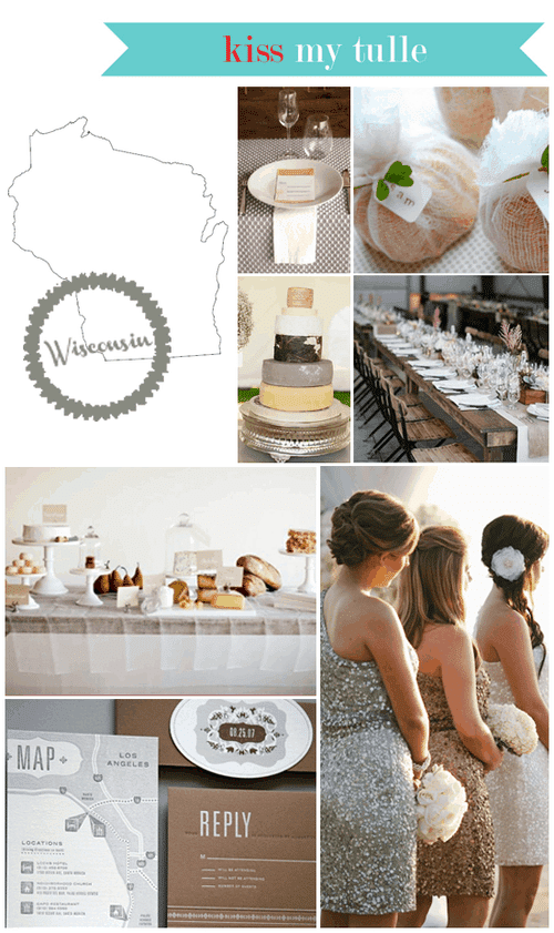 Wisconsin State Wedding Inspiration
