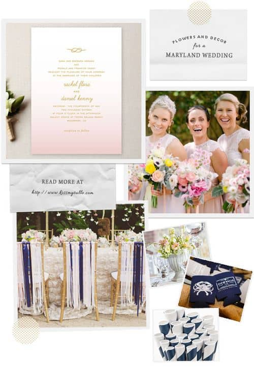 Check out these suggestions for flowers and decor for a Maryland wedding!