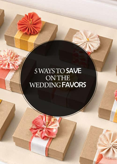 5 Ways to Save on the Wedding Favors || Kiss My Tulle