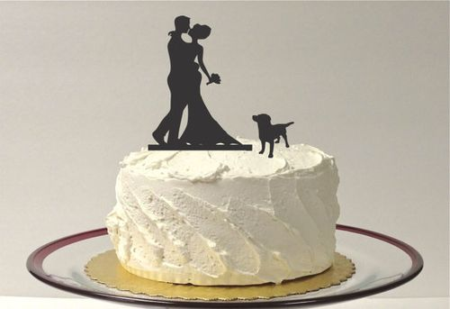 My 9 Favorite Wedding Cake Toppers from Etsy || Creative Butterfly XOX