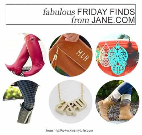 Fabulous Friday Finds from Jane.com || Kiss My Tulle