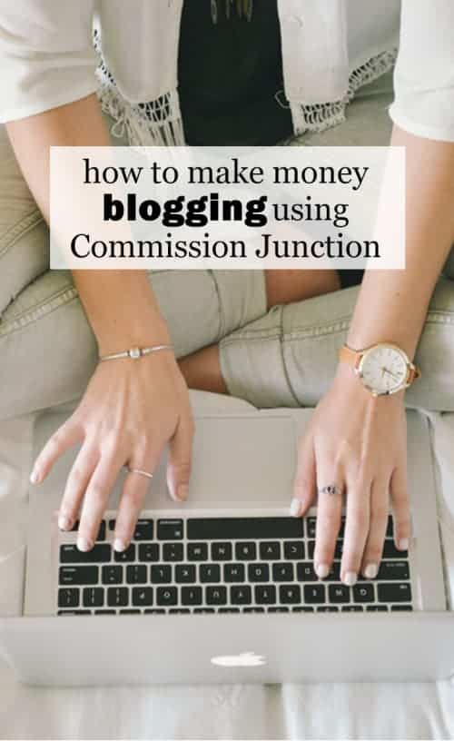 How To Make Money Blogging Using Commission Junction :: I love that I can do something I really enjoy from the comfort of my home and make some money to boot and I want to show you how you can do it, too. And it's so, so EASY! I'll be teaching you to make money blogging using Commission Junction!
