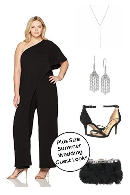 Summer is here and with it... all. the. weddings. Now that I'm 100+ pounds overweight, dressing nicely for a summer wedding involves A LOT of thought. Are you the same? Well, let me help you out - I've pulled together a few plus size summer wedding looks for you! #wedding #plussize #weddingguest #fashion