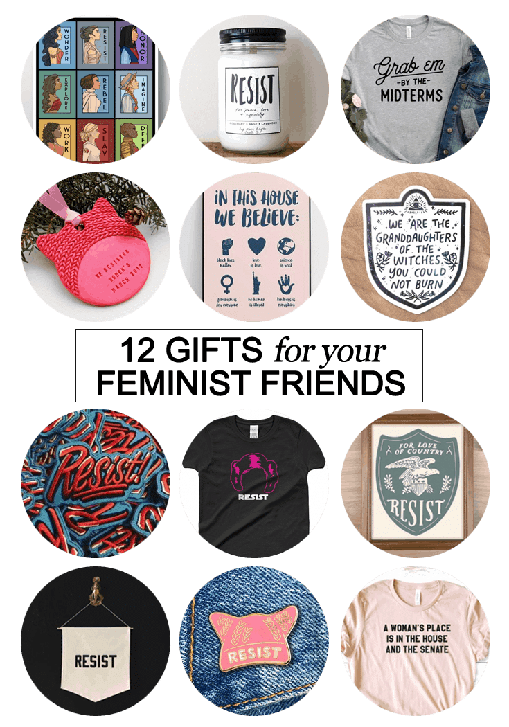 We all have bad ass friends willing to join us in this fight. Make their Christmas awesome AF with one of these 12 gifts for your #feminist friends.