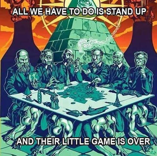 stand up and rise to your power