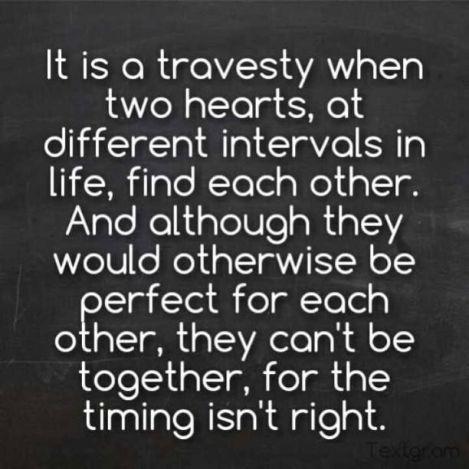 bad timing relationships