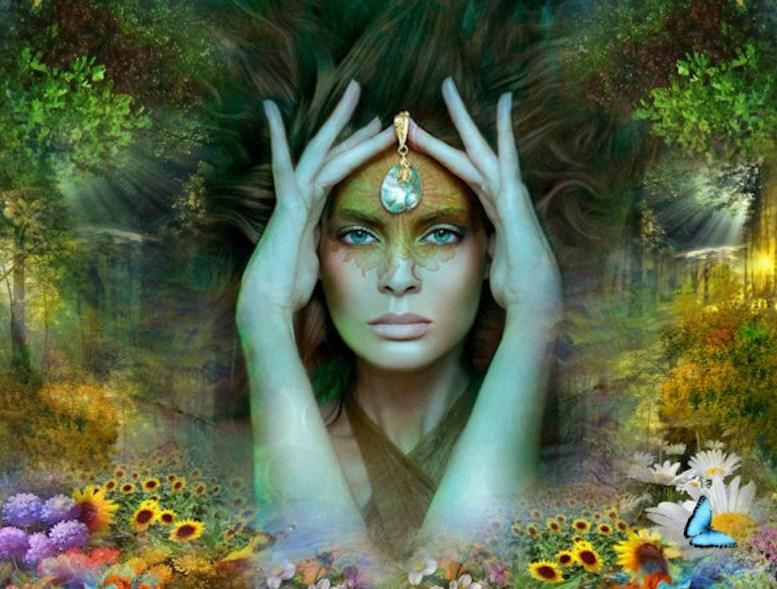 fall in love with spiritual woman