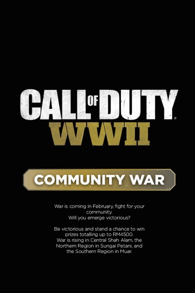 Call of Duty: World War II Community War Tour 2018