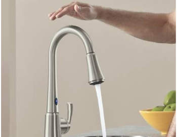 best touchless kitchen faucet reviews banner new