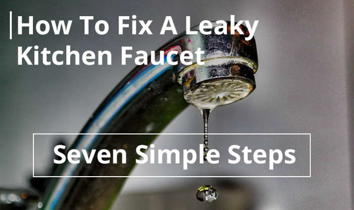 How to fix a leaky kitchen faucet under the sink