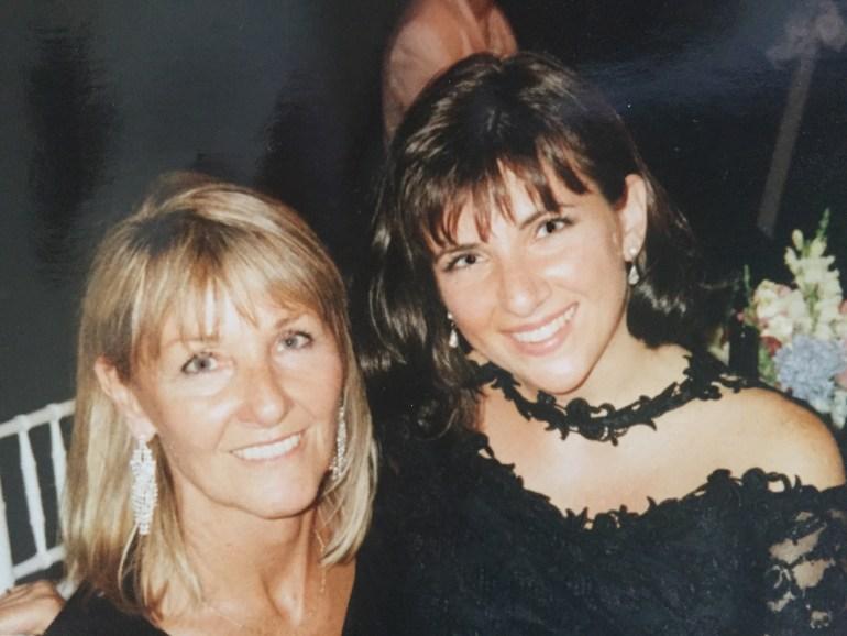 Mom and me, 1996.