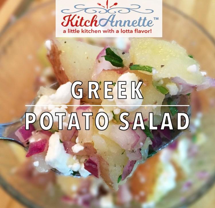 KitchAnnette Greek Potato Salad feature