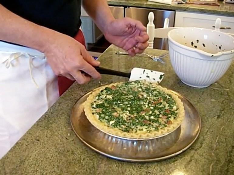 KitchAnnette Greek Quiche PreBake