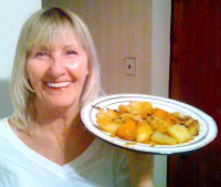 KitchAnnette Roasted Potatoes Mom
