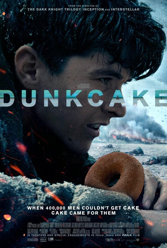 KitchAnnette Dunk Cake Poster
