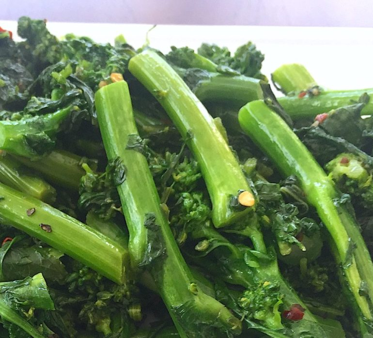 KitchAnnette Broccoli Rabe Plate