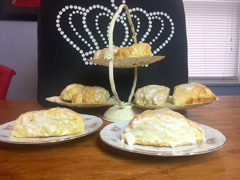 KitchAnnette Lemon Scones Display