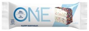 KitchAnnette One Bars Birthday Cake