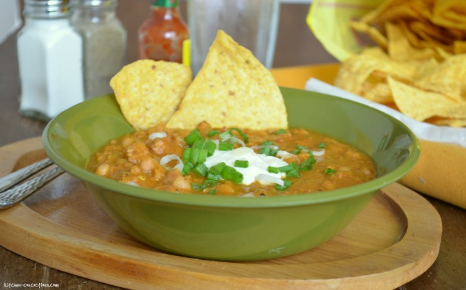 Crock-Pot Turkey White Bean Pumpkin Chili
